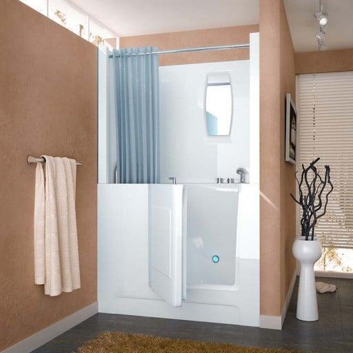 walk-in bath tub for seniors